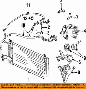 Dodge Chrysler Oem 1994 Ram 2500 Air Conditioner C Ac