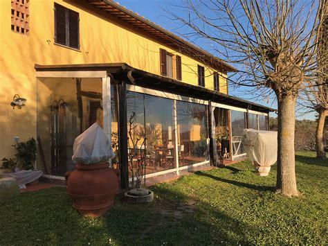 chiusura verande in pvc verande legno marchetti