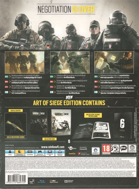siege playstation tom clancy 39 s rainbow six siege of siege edition