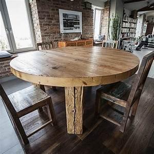 Runder Wandspiegel Holz : runder tisch altes holz denove t1 eagle design ~ Frokenaadalensverden.com Haus und Dekorationen
