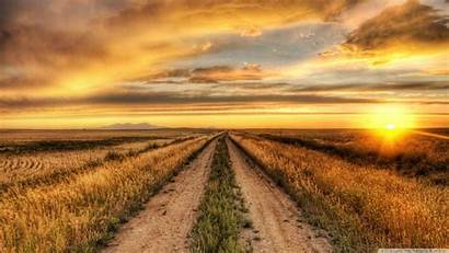 Country Road Wallpapers Desktop Sunset 4k Ultra