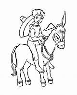 Donkey Coloring Boy Farm Animal Riding Boys Animals Clipart Printable Colour Sheet Drawing Clip Popular Getdrawings Library Different Honkingdonkey Coloringhome sketch template