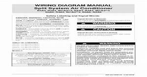 Wiring Diagram Manual Split System Air   Wiring Diagram Manual Split System Air Conditioner 2