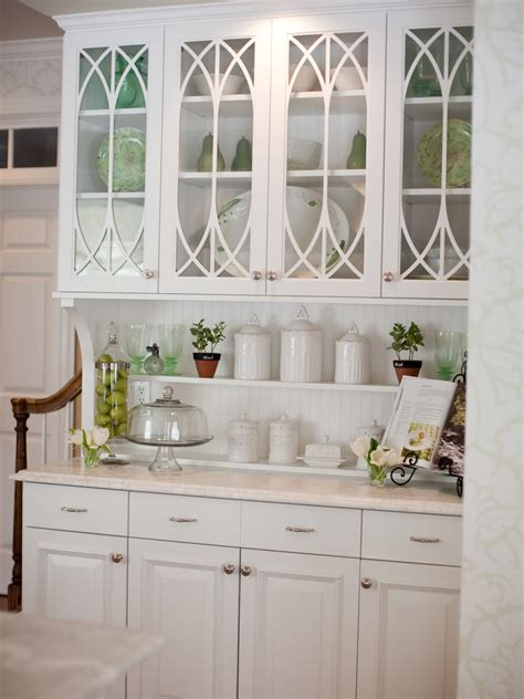 white kitchen hutch cabinet photos hgtv