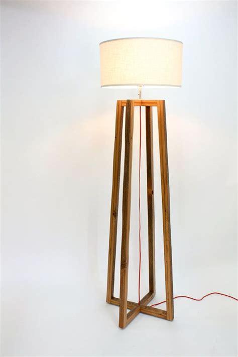 wooden floor light modern floor l reclaimed wood light by wearemfeo on etsy think diy pinterest