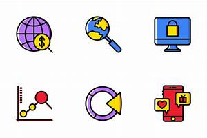 Diagram Icon Pack - Flat Icons