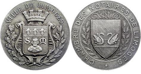 chambre de commerce de limoges medailles jetons limoges not