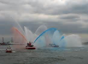 Fireboat White by Archive Nyc History Vip In The City