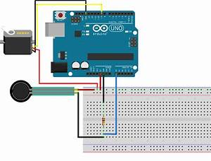 Control A Servo With A Force Resistive Sensor On Arduino