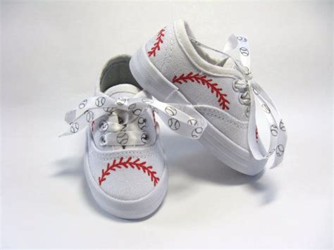 Where To Find Shower Shoes by Baseball Shoes Sports Theme Birthday Painted