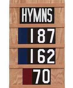 worship series hymn slide and number set 8 item hbs 10033 With hymn board numbers and letters