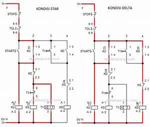 Wiring Diagram Motor Listrik 3 Fasa