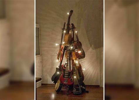14 ways to use an old guitar to spice up your home d 233 cor