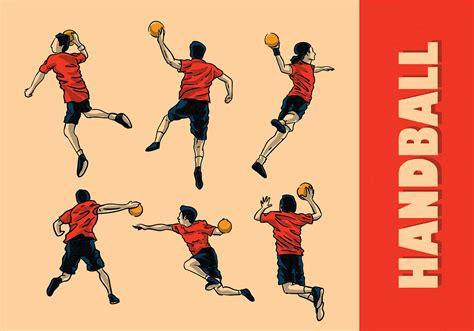 Handball Vector - Download Free Vector Art, Stock Graphics