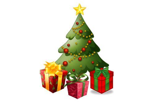 christmas tree present gift xmasblor