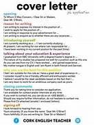 Cover Letter Job Application English Language ESL English Teacher Cover Letter Template Resume Genius Generic Teaching Cover Letter Sample English Teacher Resume Template CV Examples Teaching