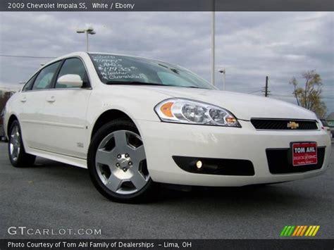 2009 Chevrolet Impala Ss by White 2009 Chevrolet Impala Ss Interior