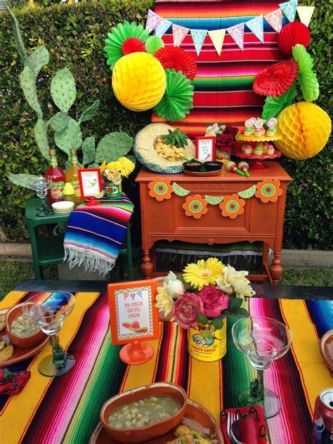 Cinco De Mayo Fiesta!  Laura's Little Party