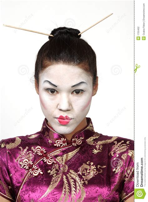 geisha dress pretty japanese geisha stock photo image of purplish