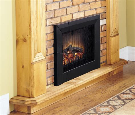 convert wood fireplace to electric convert to an electric fireplace