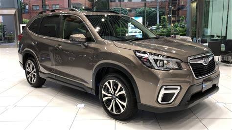 2019 Subaru Forester Debut by 2019 Subaru Forester Premium Debut In Japan スバル 新型