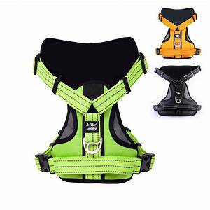 Reflective Large Dog Harness Strong Pet Training Walk Out