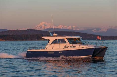 aspen power catamarans  power boat  sale www