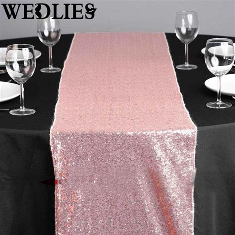 pink table l x sequin table runner sparkly pink table cloth