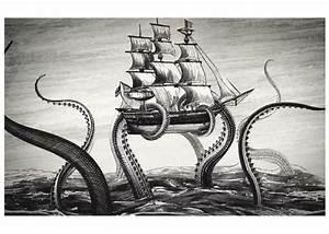 Kraken Rum Animations by Steven Noble – Hire an Illustrator