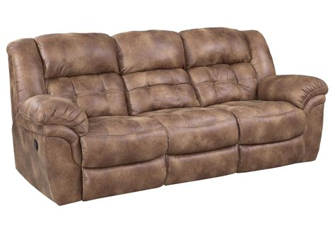 Faux Leather Recliner Sofa by Faux Leather Reclining Sofa By Homestretch Wolf Furniture