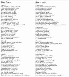 Blank Spaces Lyrics   White Gold