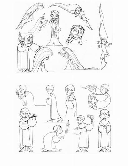 Kells Coloring Pages Secret Character Niklas Sketch