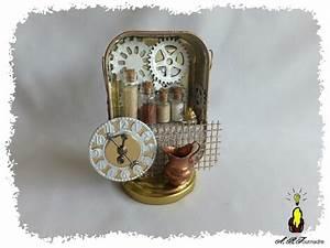 Boite Archive Deco : maquette scrapp e steampunck en boite sardine armoire m tallique pour sorci re les ~ Teatrodelosmanantiales.com Idées de Décoration