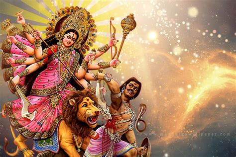 maa durga photo hd pics images  epic car
