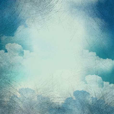 illustration background clouds grunge vintage