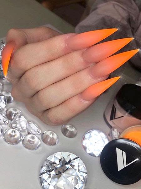 sassy stiletto nails     copy  trend