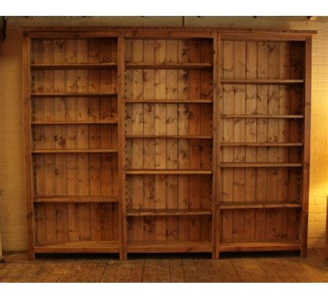 2 Ft Wide Bookcase by Original Bookcase Vintage Reclaimed Furniture