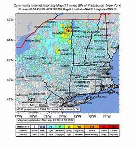 Bowdoinham Light Maine Geological Survey April 20 2002 Earthquake