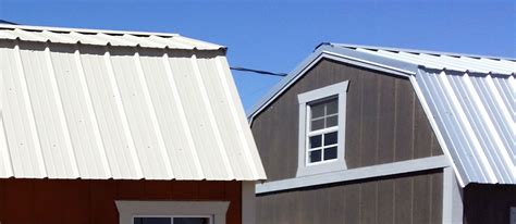 Barn Roofing by How To Install A Metal Roof Instead Of Shingles On Your Shed