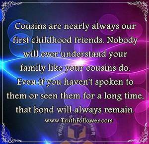 Bond Between Cousin Quotes Astana Hotelinfo