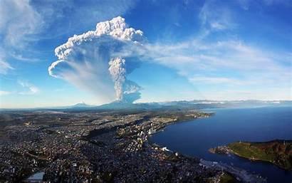 Volcano Chile Puerto Landscape Nature Montt Wallpapers