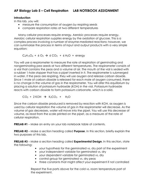 15 Best Images Of Chapter 9 Cellular Respiration Worksheet  Cellular Respiration Worksheet