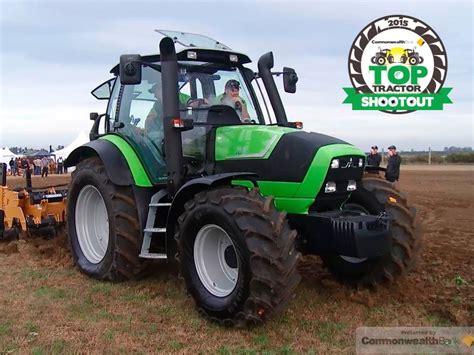 tractors  deutz fahr agrotron  summit review