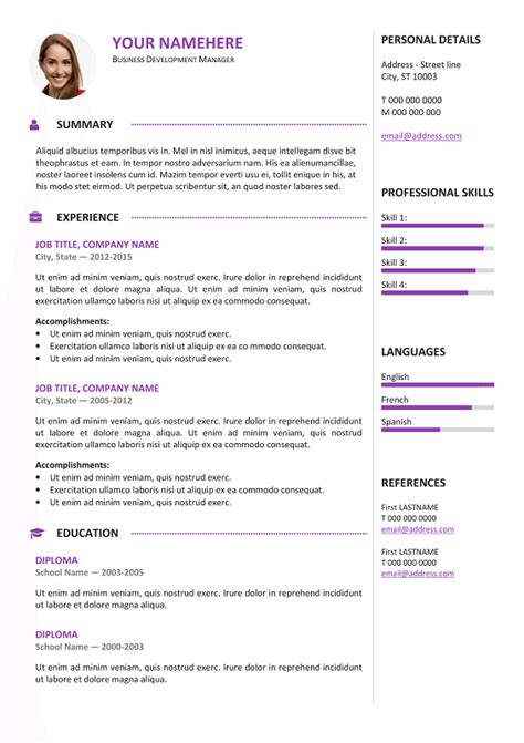 13153 free color resume templates gastown2 free professional resume template