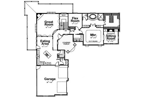Yumi Floor L by L Shaped House Plans With Pool In Middle L Shaped Ranch