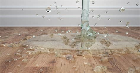 water on floor water damage claim public adjusting company michigan fire claims