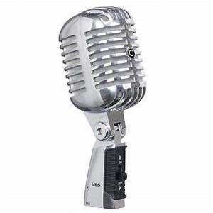 Classic V55 Vintage Dynamic Microphone Package  Includes