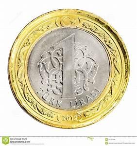 One Turkish Lira Royalty Free Stock Photos Image 32727098
