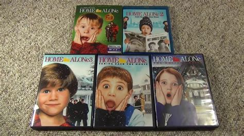 Home Alone Bluray And Dvd Collection And Unboxing The 4th Movie Youtube