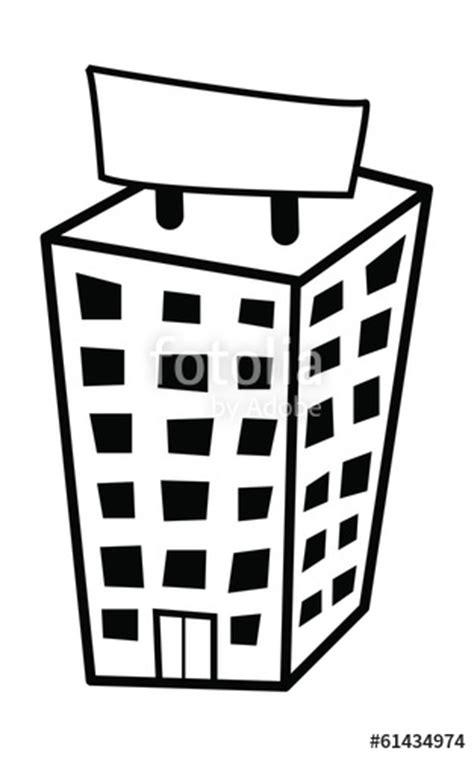 """""""comic Erklärvideo Hochhaus Werbeagentur"""" Stockfotos Und"""